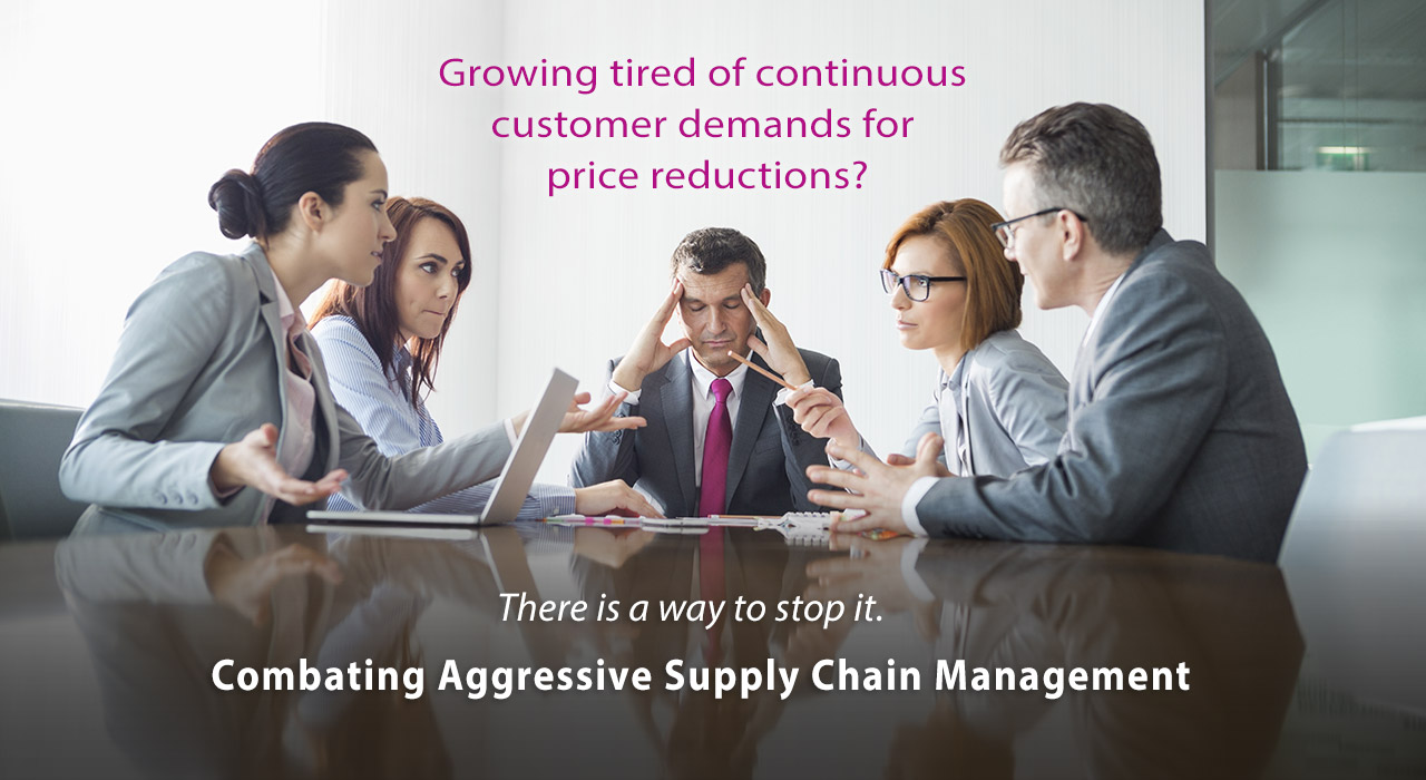 Combating Aggressive Supply Chain Management Strategies and Tactics for Leveling the Playing Field